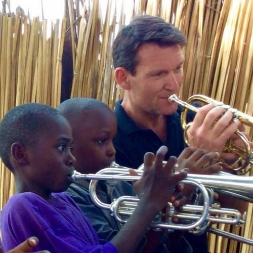 Jim Trott and Brass for Africa